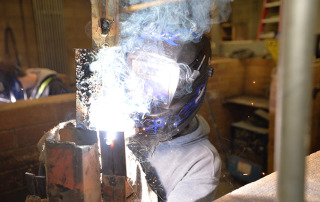 welding, fabrication technology, magnet program, Fort Vancouver High School