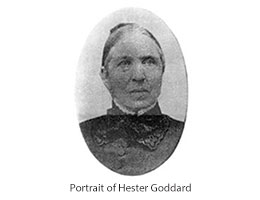 Portrait of Hester Goddard