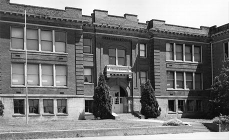 Vancouver's first brick schoolhouse, Arnada Elementary School, opened in 1910.
