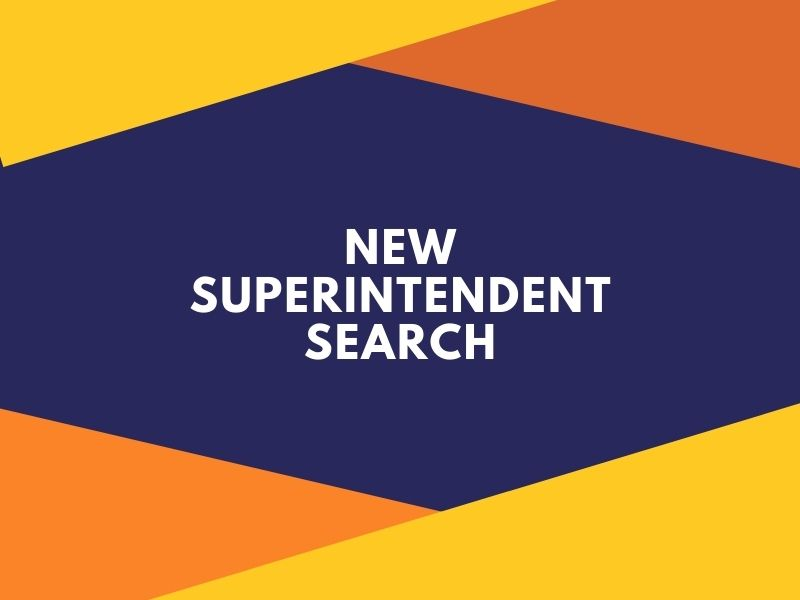 New superintendent search