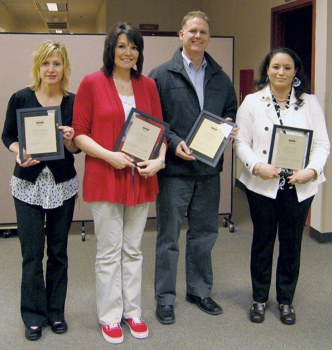February 2013 Excellence Awards